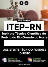 Assistente Técnico Forense - Direito - ITEP-RN