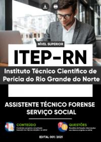 Assistente Técnico Forense - Serviço Social - ITEP-RN