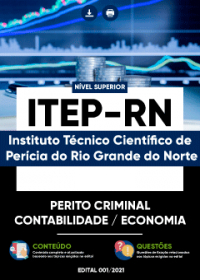 Perito Criminal - Contabilidade - Economia - ITEP-RN