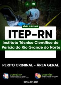 Perito Criminal - Área Geral - ITEP-RN
