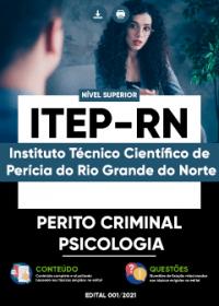 Perito Criminal - Psicologia - ITEP-RN