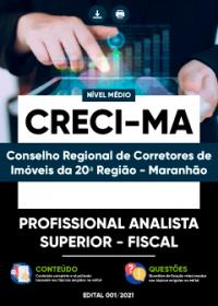 Profissional Analista Superior - Fiscal - CRECI-MA
