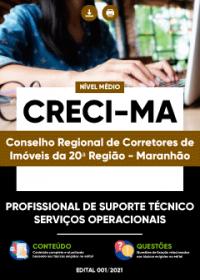 Profissional de Suporte Técnico - Serviços Operacionais - CRECI-MA