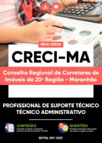 Profissional de Suporte Técnico - Técnico Administrativo - CRECI-MA