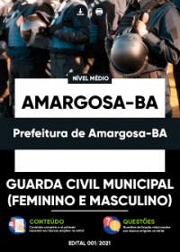 Guarda Civil Municipal - Prefeitura de Amargosa-BA