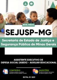 Auxiliar Educacional - SEJUSP-MG