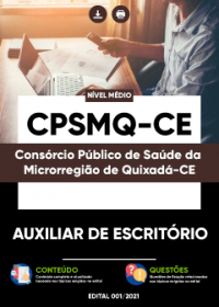 Auxiliar de Escritório - CPSMQ-CE