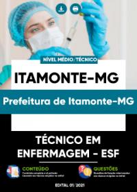 Técnico em Enfermagem - ESF - Prefeitura de Itamonte-MG