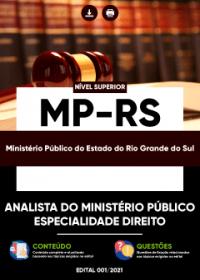 Analista do Ministério Público - Especialidade Direito - MP-RS