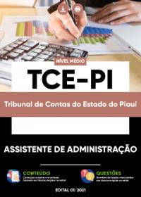 Assistente de Administração - TCE-PI