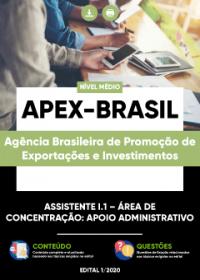Assistente I.1 - Área de Concentração: Apoio Administrativo - APEX-BRASIL