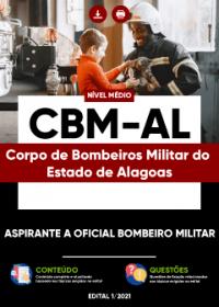 Aspirante a Oficial Bombeiro Militar - CBM-AL