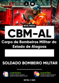 Soldado Bombeiro Militar - CBM-AL