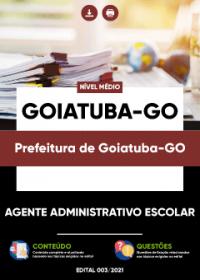 Agente Administrativo Escolar - Prefeitura de Goiatuba-GO