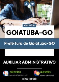 Auxiliar Administrativo - Prefeitura de Goiatuba-GO