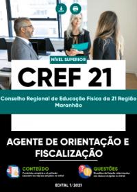 Agente de Orientação e Fiscalização - CREF 21