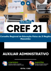 Auxiliar Administrativo - CREF 21