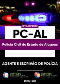 Agente e Escrivão de Polícia - PC-AL