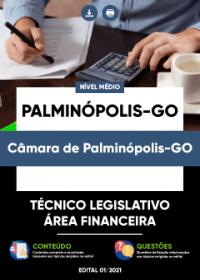 Técnico Legislativo - Área Financeira - Câmara de Palminópolis-GO