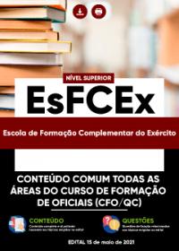 Comum Todas as Áreas do Curso de Formação de Oficiais - EsFCEx