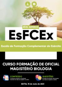 Curso Formação de Oficial - Magistério Biologia - EsFCEx