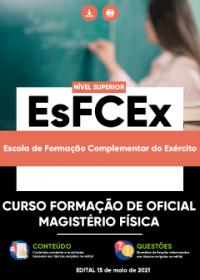 Curso Formação de Oficial - Magistério Física - EsFCEx