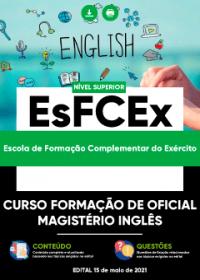 Curso Formação de Oficial - Magistério Inglês - EsFCEx