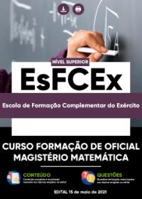 Curso Formação de Oficial - Magistério Matemática - EsFCEx