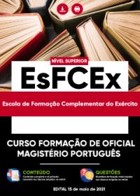 Curso Formação de Oficial - Magistério Português - EsFCEx