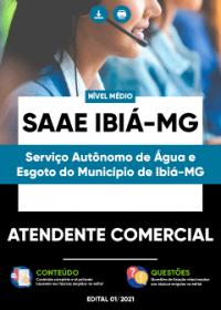 Atendente Comercial - SAAE Ibiá-MG