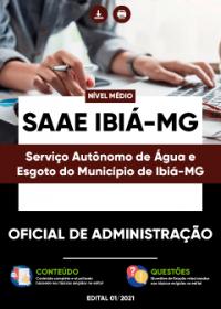 Oficial de Administração - SAAE Ibiá-MG