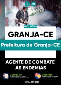 Agente de Combate às Endemias - Prefeitura de Granja-CE