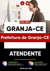Atendente - Prefeitura de Granja-CE