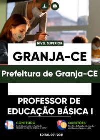 Professor de Educação Básica I - Prefeitura de Granja-CE