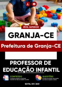 Professor de Educação Infantil - Prefeitura de Granja-CE