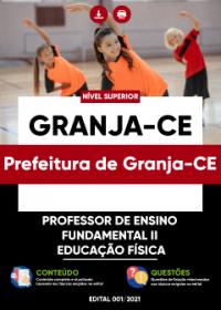 Professor de Ensino Fundamental II - Educação Física - Prefeitura de Granja-CE