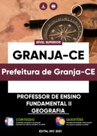Professor de Ensino Fundamental II - Geografia - Prefeitura de Granja-CE