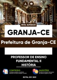 Professor de Ensino Fundamental II - História - Prefeitura de Granja-CE