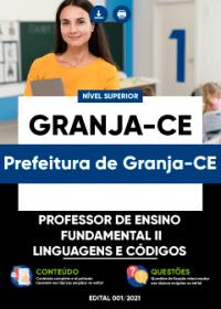 Prof. de Ensino Fundamental II - Linguagens e Códigos - Prefeitura de Granja-CE