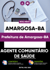 Agente Comunitário de Saúde - Prefeitura de Amargosa-BA