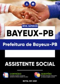 Assistente Social - Prefeitura de Bayeux-PB