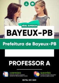 Professor A - Prefeitura de Bayeux-PB