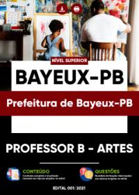 Professor B - Artes - Prefeitura de Bayeux-PB