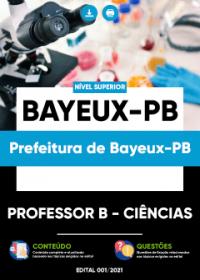 Professor B - Ciências - Prefeitura de Bayeux-PB