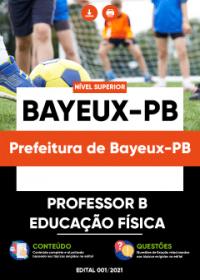Professor B - Educação Física - Prefeitura de Bayeux-PB