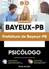 Psicólogo - Prefeitura de Bayeux-PB