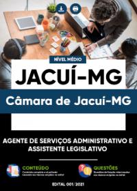 Agente de Serviços Administrativo e Assistente Legislativo - Câmara de Jacuí-MG
