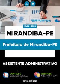 Assistente Administrativo - Prefeitura de Mirandiba-PE