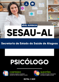 Psicólogo - SESAU-AL