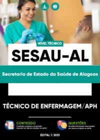 Técnico de Enfermagem-APH - SESAU-AL